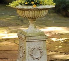 Urns and Bird Baths